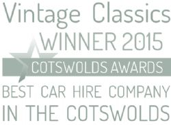 Award for the Best Cotswolds Car Hire Company