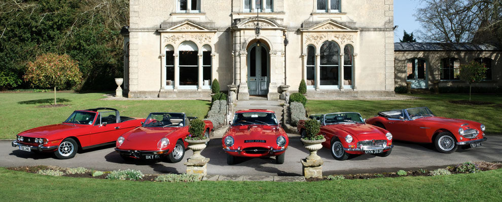 Contact Vintage Classic Car Hire